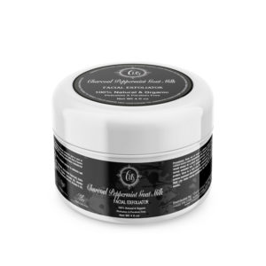 Charcoal Peppermint Goat Milk Facial Exfoliator