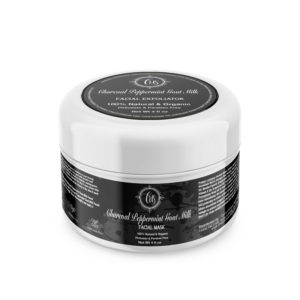 Charcoal Peppermint Goat Milk Facial Mask