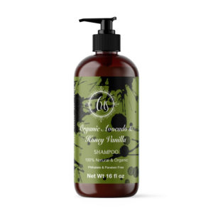 Organic Avocado & Honey Vanilla Shampoo